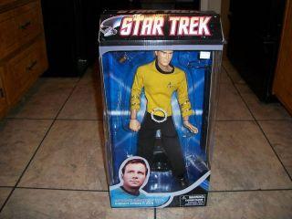 2009 18 Star Trek Captain James T Kirk Figure New