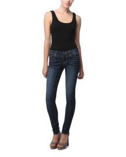 Vigoss Dark Wash Studio Skinny Jagger Jeans