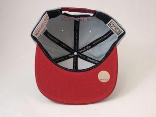 Snapback Hat Mitchell Ness XL Logo Cap Basketball NBA James Wade Bosh