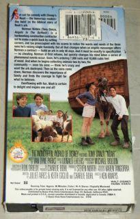 VHS Walt Disney 1998 Tony Danza Wallace Shawn Jane Sibbett OOP