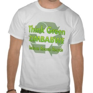 Think Green Zimbabwe Tshirt