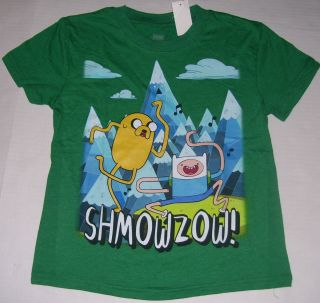 Adventure Time Finn & Jake New T Shirt Youth Size M / Medium / 8 FREE