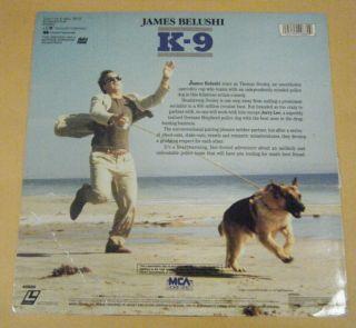 Laser Disc Mel Harris Kevin Tieghe James Belushi 1989 MCA Video