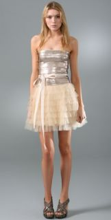 Haute Hippie Sequin Tulle Cocktail Dress