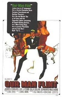 Our Man Flint 66 Super Cool James Bond Spoof James Coburn
