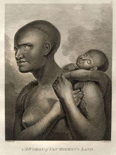 Voyage Du Capitaine James Cook Maori Maternite Tasmanie Van Diemen