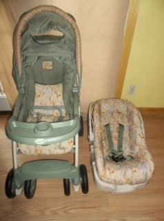 Safety 1st Disney Propack LX Travel System Stroller Winnie The Pooh
