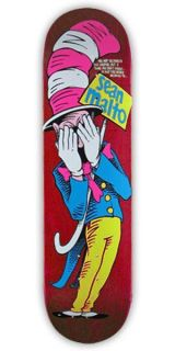 Girl Sean Malto Cat in The Hat Jason Lee Spoof Red