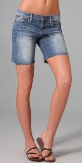 Joe's Jeans Leah Raw Hem Best Friend Shorts