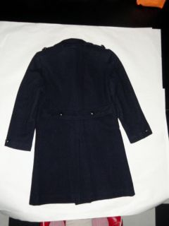 150 BOYS 10 NAVY WOOL LINED DRESS COAT LONG STYLE JASON SCOTT BY IMP