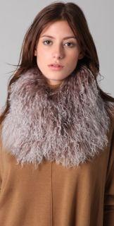 Haute Hippie Mongolian Fur Collar