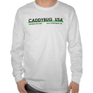 Caddybug USA   Motorized Remote Control Golf Carts T Shirt