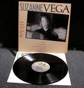 Suzanne Vega Self Titled LP w Inner EX Listen