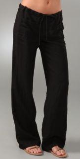 Vince Drawstring Linen Pants