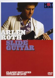 Arlen Roth Slide Guitar Hot Licks DVD HOT572 Learn to Play Electric