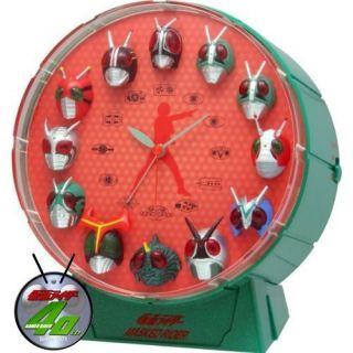 Masked Kamen Rider 1 to Mask Black RX Alarm Clock Japan