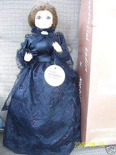 Nortel Presidential Ladies Jane Pierce First Lady Doll