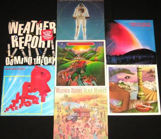 Weather Report 7 Albums Jazz Funk Fusion 1972 1984 Great Collection