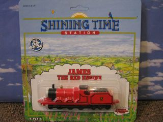 James Thomas Tank Engine Train Ertl 1992 Diecast Shining Time Station