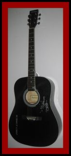 Jamey Johnson Signed Autograph Guitar w Lyrics