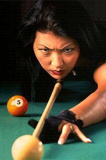 New McDermott Jeanette Lee Black Widow Pool Cue Kit