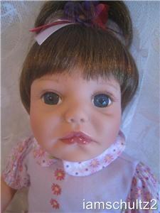Precious 19 Paradise Galleries Jane Pinkstaff Vinyl Baby Doll ~ For