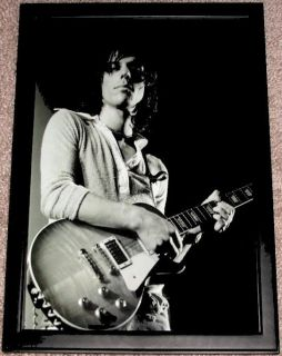 Jeff Beck Gibson 1959 Les Paul Framed Concert Portrait