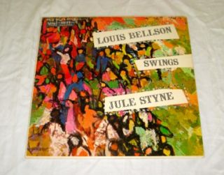 Swings Jule Styne Verve Records Jazz Drumming Vinyl LP Classsic
