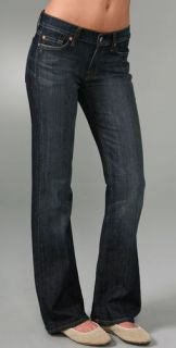 7 For All Mankind Boot Cut Short Jeans