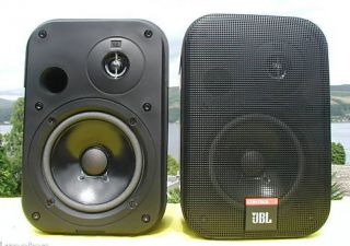New JBL Control 1 Professional Speakers Black 150 Watt Studio Monitors