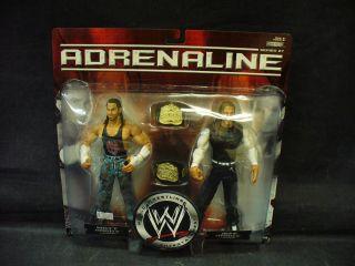 WWE Adrenaline Matt Jeff Hardy Action Figures Jakks 2007 MIP Series 27