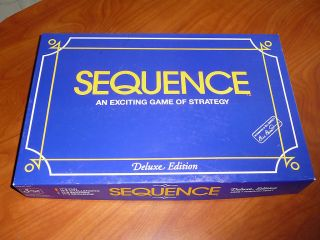 Deluxe Sequence 1995 JAX Ltd Card Board Game Hybrid