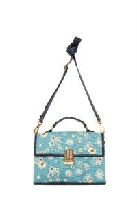 Jason Wu for Target Floral Blue Front Flap Bag not Yet in Stores