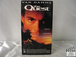 The Quest VHS Jean Claude Van Damme Roger Moore 096898286930