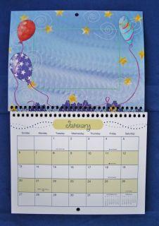 2013 Photo Calendar Custom Personalize Mini Frame Wall Holiday Themed