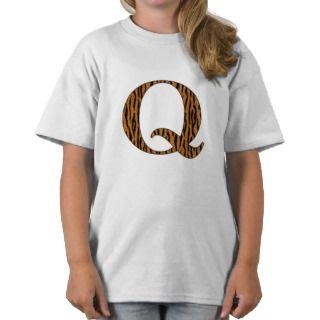 Terrific Tiger Q Shirts