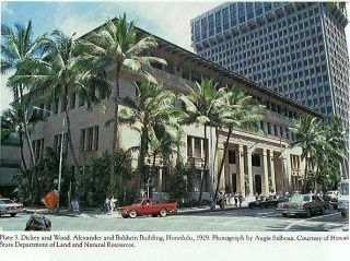 Architecture of Charles w Dickey California Hawaii HB w DJ