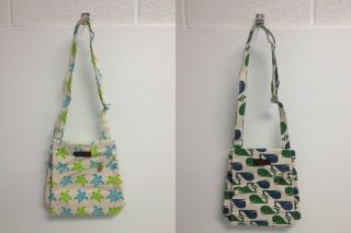 Bungalow 360 Canvas Cross Body Mini Messenger Bag 2 Styles to Choose