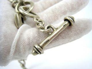 Vintage Sterling Silver Lisa Jenks Charm Bracelet
