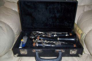 Vintage Barrington by La Sax Clarinet in Case Nice