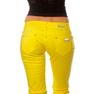 Pantalon Jeans Jaune Redial 36