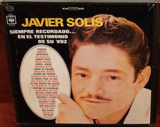 Javier Solis Siempre Recordando En El Testimonio de S