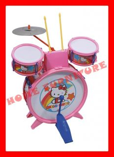 Drum Set Rockstar Kids Play Kit Music Rock Roll Samba Jazz Pop