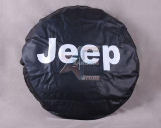 New Spare Wheel Tire Cover 30 31 4 Jeep Liberty 2002 2011 w Silver