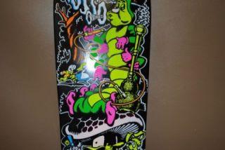 Cease Desist Santa Cruz Jeff Grosso Alice Wonderland Skateboard Deck 4