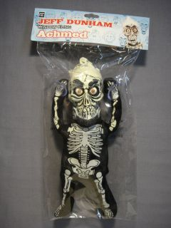 Jeff Dunham Achmed 9 Window Cling Doll New NECA