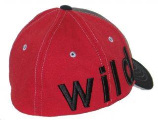 Minnesota Wild NHL Payback Flex Fit Hat Cap M L New