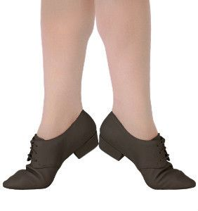 Sansha Cabaret Jazz Dance Shoes JS41 Black Size 5 Medium