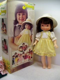 Vtg MY FRIEND JENNY (Mandy) Doll Fisher Price Box AO NICE Extra