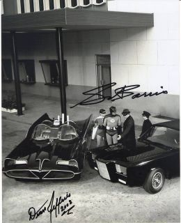 Green Hornet signed photo car creators George Barris Dean Jeffries